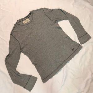 Gray Aeropostale long sleeve shirt